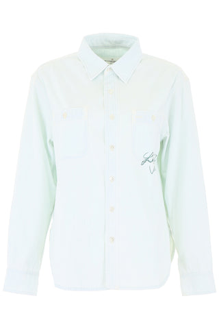 Golden Goose Deluxe Brand Printed Button-Up Shirt