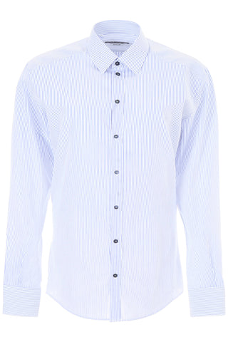 Dolce & Gabbana Striped Poplin Shirt