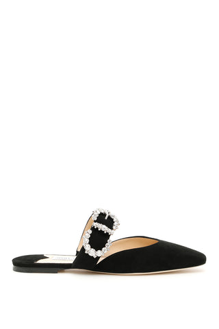 Jimmy Choo Gee Buckle Mules