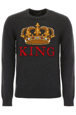 Dolce & Gabbana King Knitted Jumper