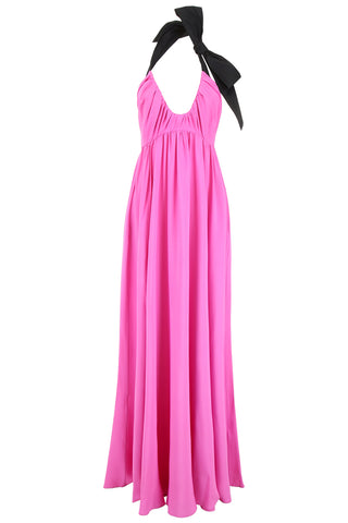 N°21 Halter-Neck Draped Gown