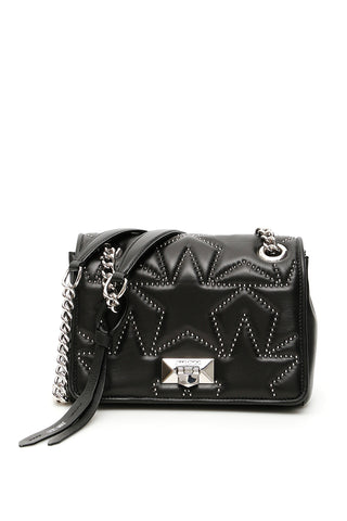 Jimmy Choo Helia Studded Shoulder Bag