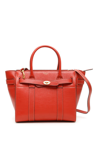 Mulberry Small Zipped Bayswater Tote Bag