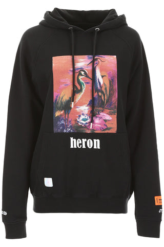 Heron Preston Graphic Printed Hoodie