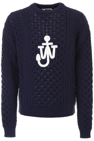 JW Anderson Cable Knit Chunky Sweater