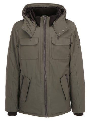 Moose Knuckles Sayabec Hooded Jacket
