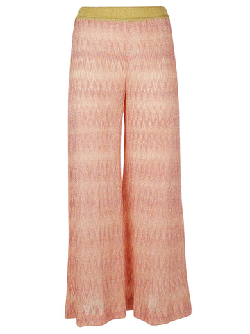 Missoni Textured Wide-Leg Pants