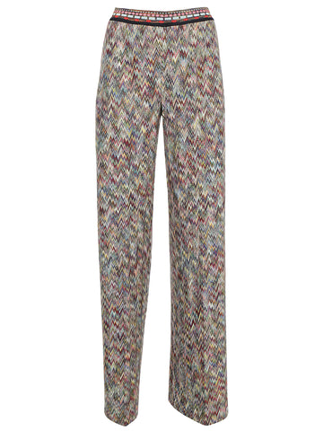Missoni Patterned Flared Trousers