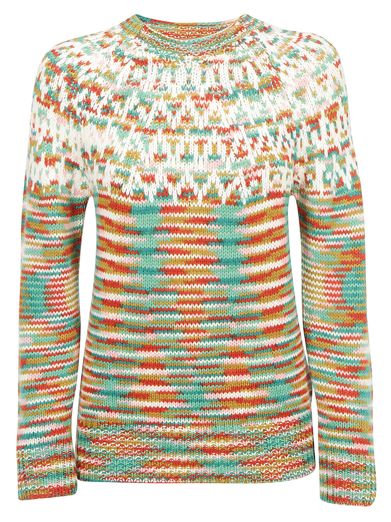 aeff58dbf0 Missoni Contrasting Panelled Sweater