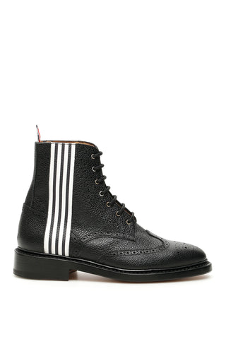 Thom Browne Wingtip 4-Bar Boots