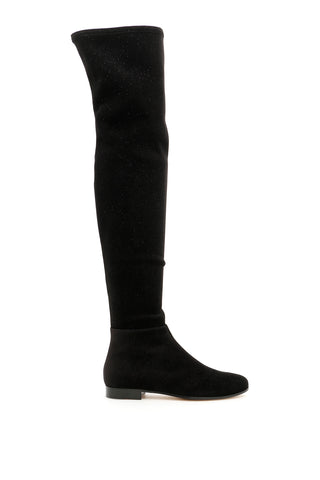 Jimmy Choo Myren Suede Over The Knee Boots