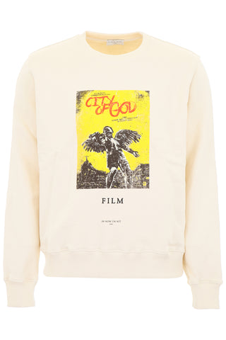 Ih Nom Uh Nit City Of God Print Sweatshirt