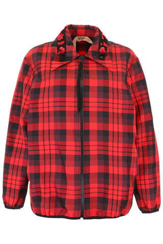 N°21 Checked Nylon Jacket