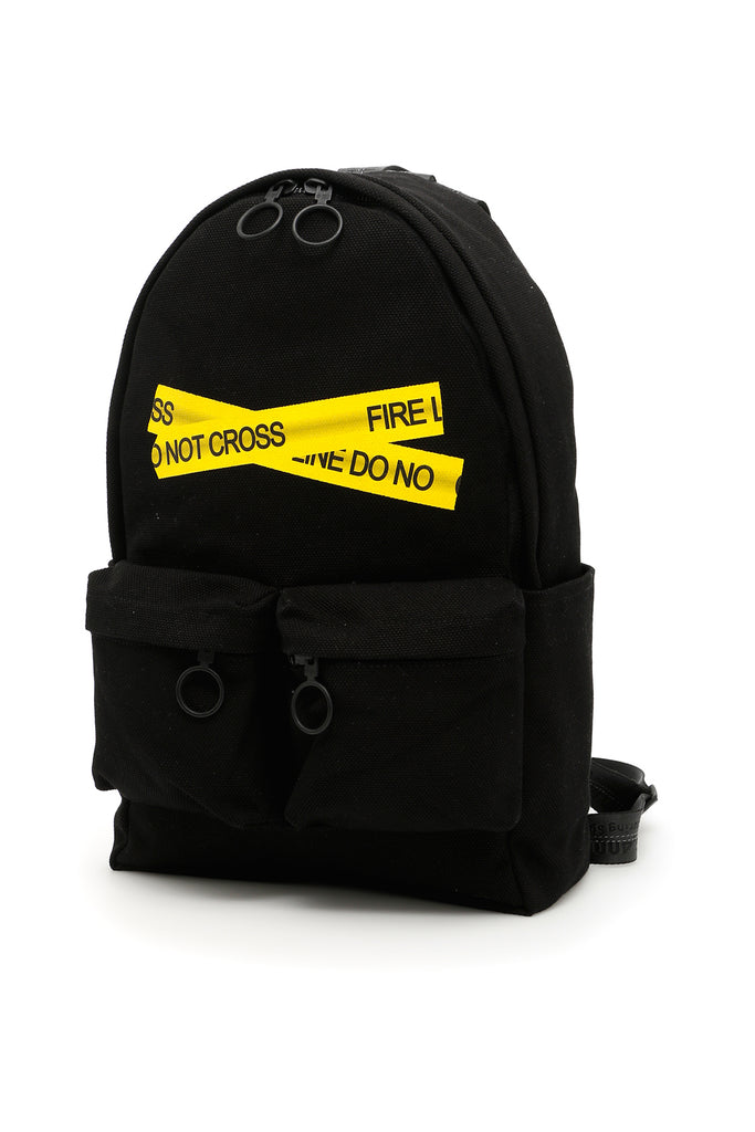 038ddeee4f79 Off-White Fire Tape Backpack – Cettire