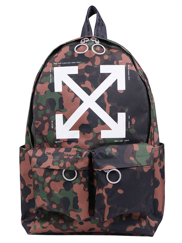 Off-White Arrows Camouflage Backpack
