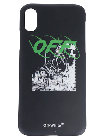 Off-White Logo Printed iPhone X Cover