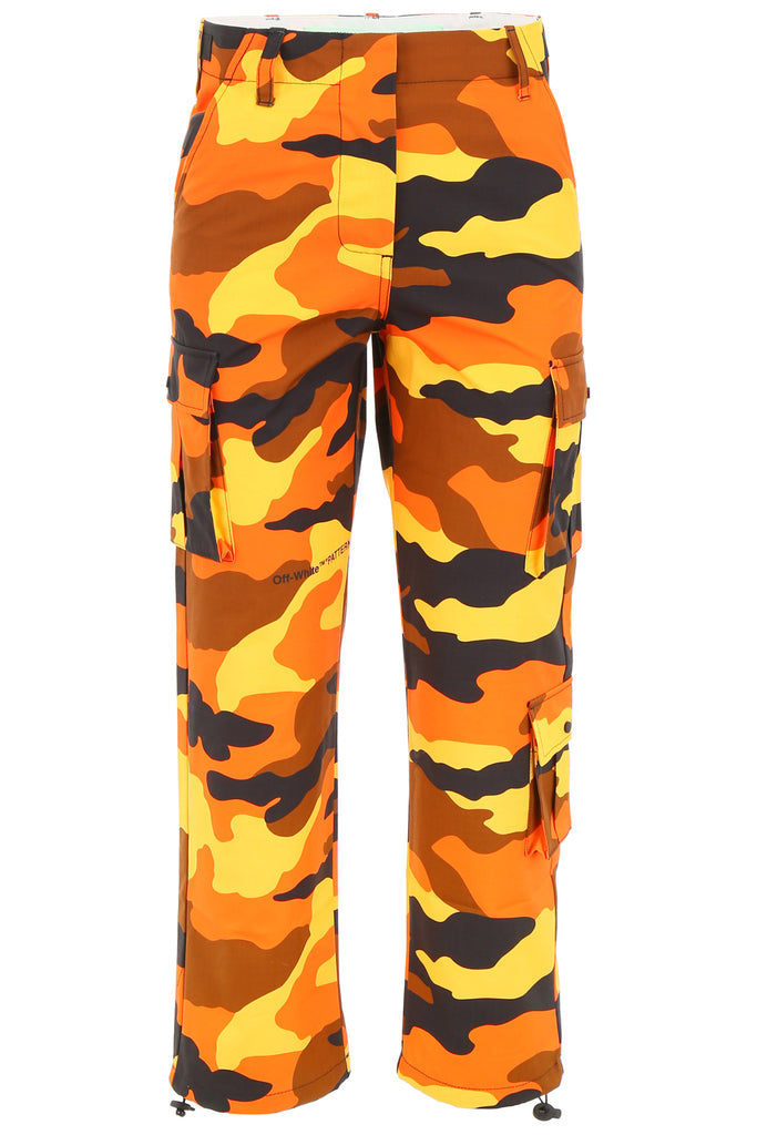 Off-White Camouflage Cargo Pants