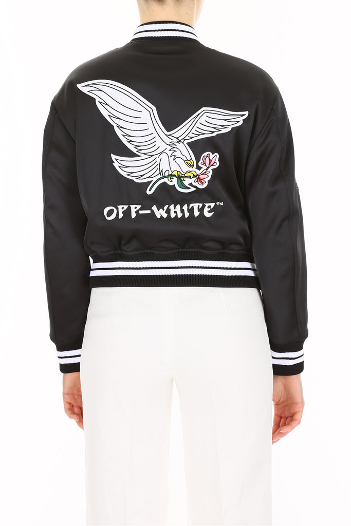 73fb1794268f Off-White Embroidered Eagle Bomber Jacket – Cettire