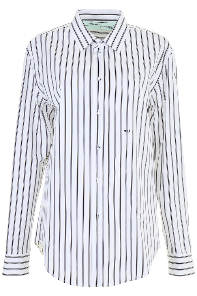 7f9d19bd725a Off-White Striped Shirt – Cettire