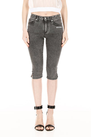 Off-White Denim Capri Jeans