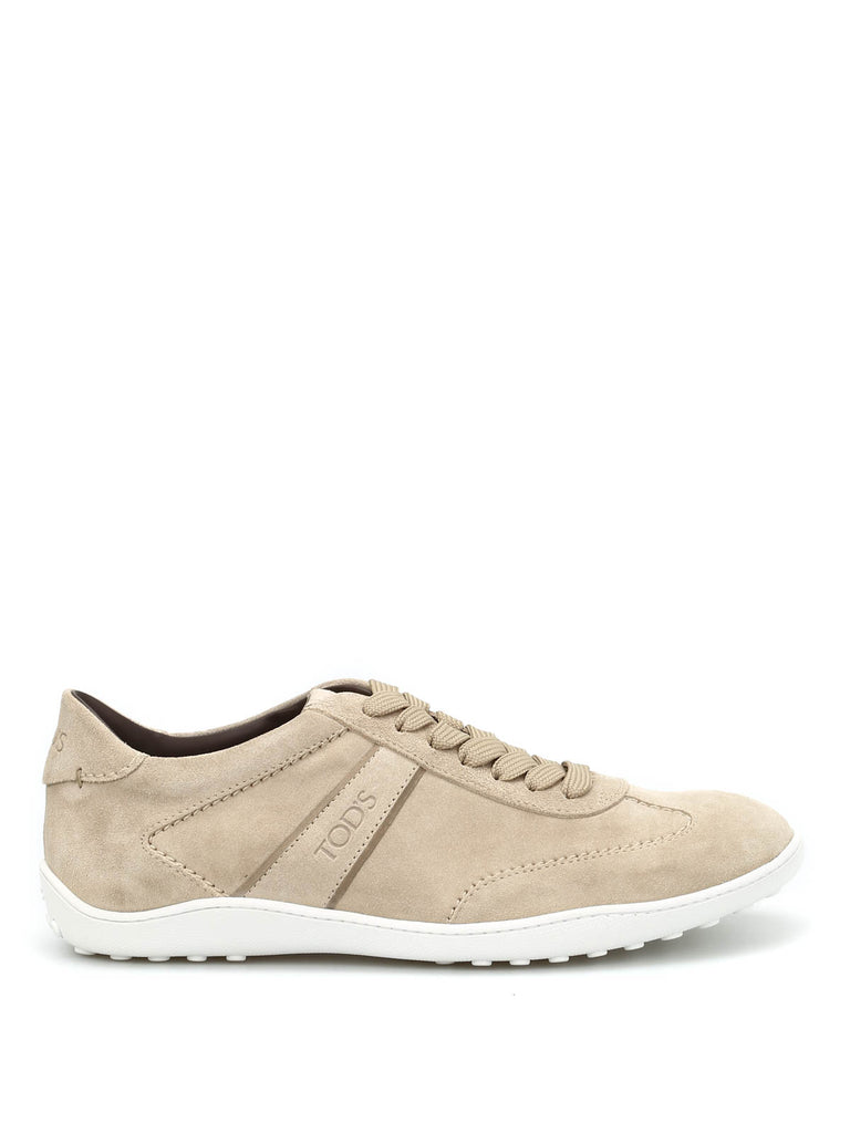 7e1189bf Tod's Suede Panelled Sneakers – Cettire