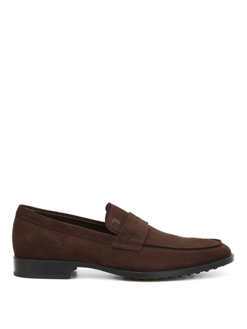 Tod's Classic Suede Penny Loafers