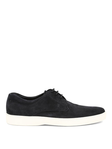 Tod's Suede Lace-Up Derby Shoes