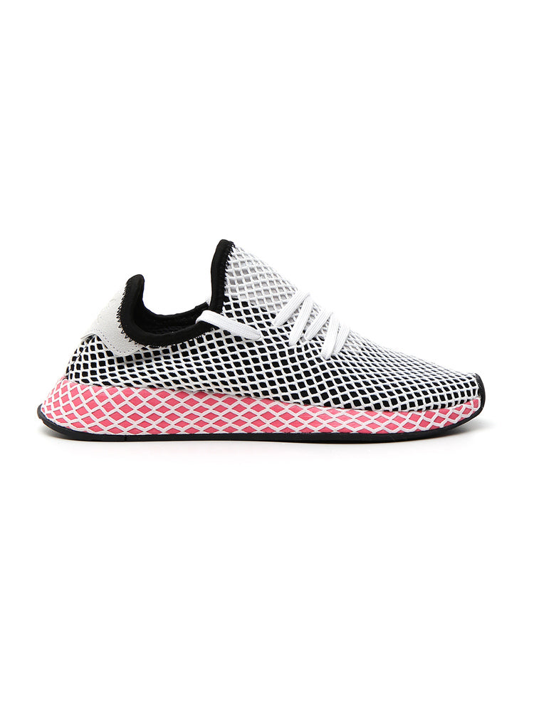 new concept 0f1ad a71c6 Adidas Originals Sneakers Adidas Deerupt Runner W Sneakers In Knit And Mesh  Stretch Net Effect In