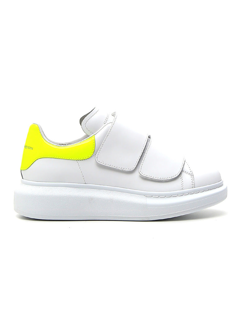 ALEXANDER MCQUEEN CHUNKY SOLE STRAP SNEAKERS
