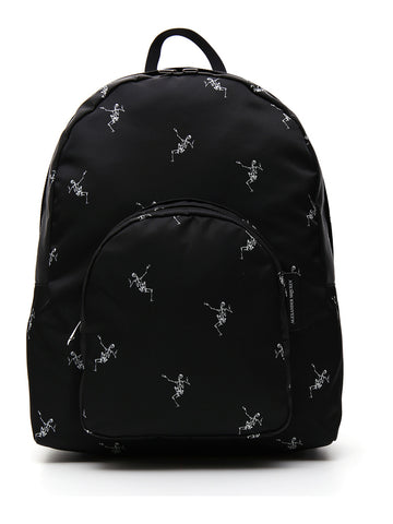 Alexander McQueen Dancing Skeleton Print Backpack