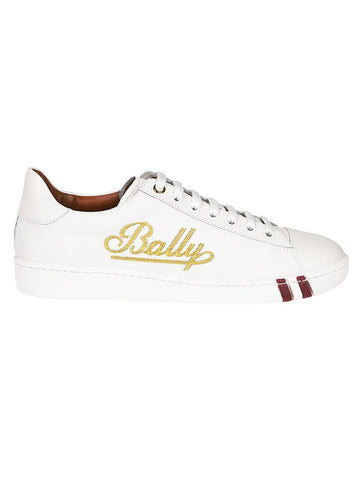 Bally Weira Embellished Logo Sneakers