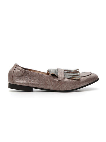 Brunello Cucinelli Fringed Loafers