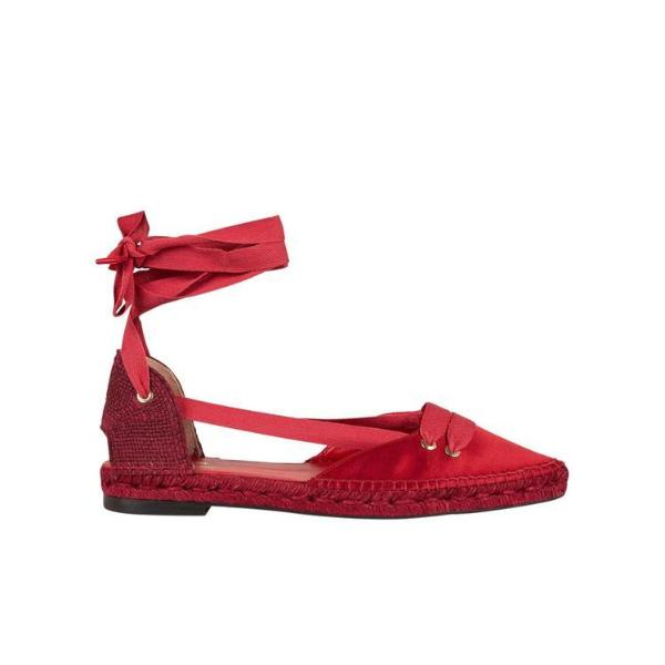 MANOLO X CASTANER Manolo X Castaner Espadrille Flats in Red