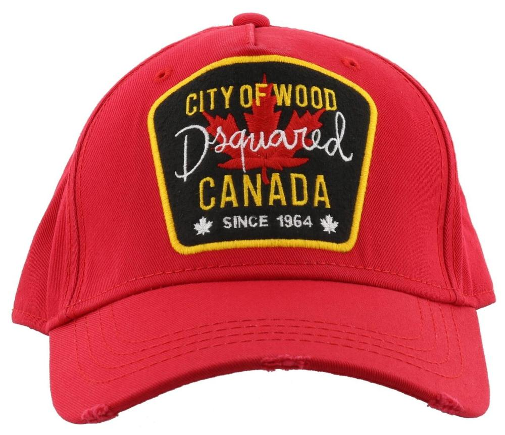 25ad27c2 Dsquared2 City Of Wood Patch Cap – Cettire