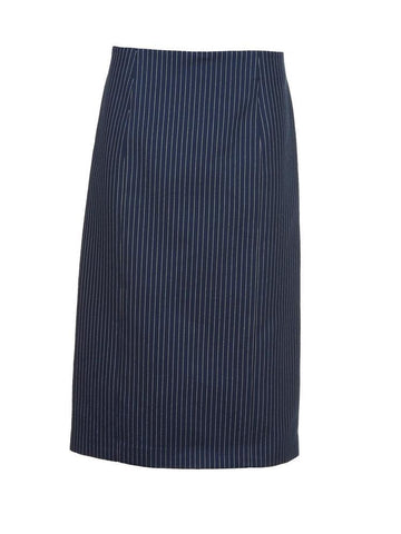 Fendi Pinstriped Pencil Skirt