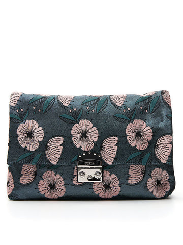 Furla Floral Embroidered Bag