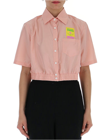 GCDS Cropped Blouse