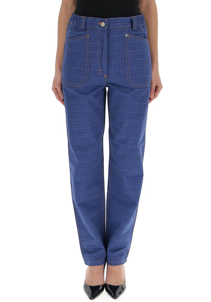 JW ANDERSON CHECK TROUSERS