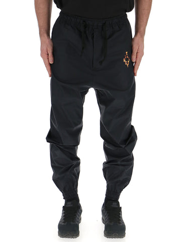 Marcelo Burlon County Of Milan Logo Fire Track Pants