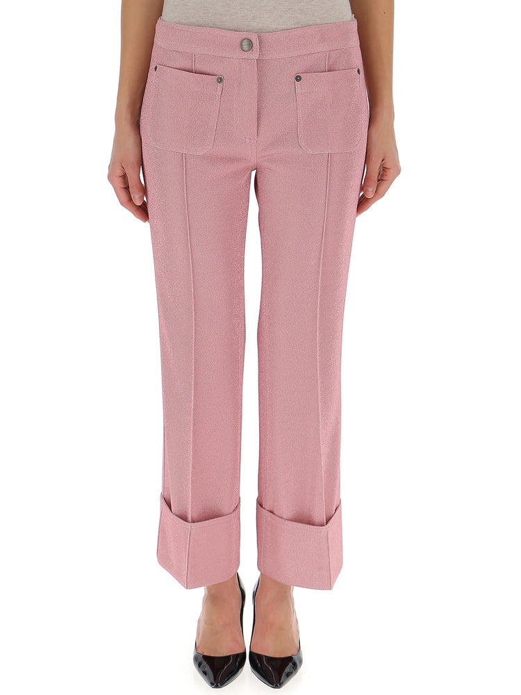 MARCO DE VINCENZO CROP TAILORED TROUSERS
