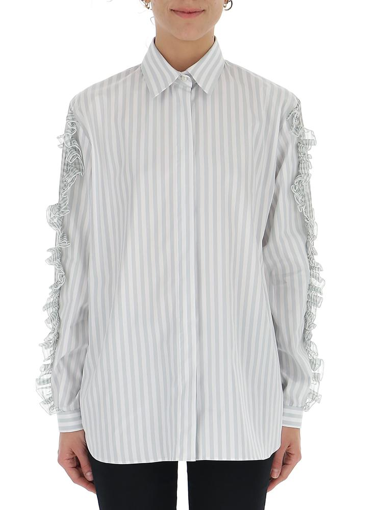 MARCO DE VINCENZO RUFFLED SHIRT