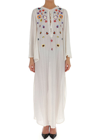 Missoni Long Embroidered Dress