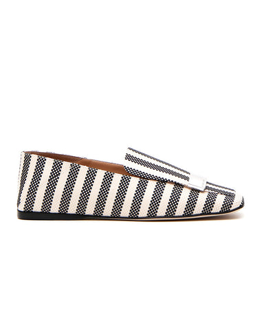 Sergio Rossi Striped Loafers
