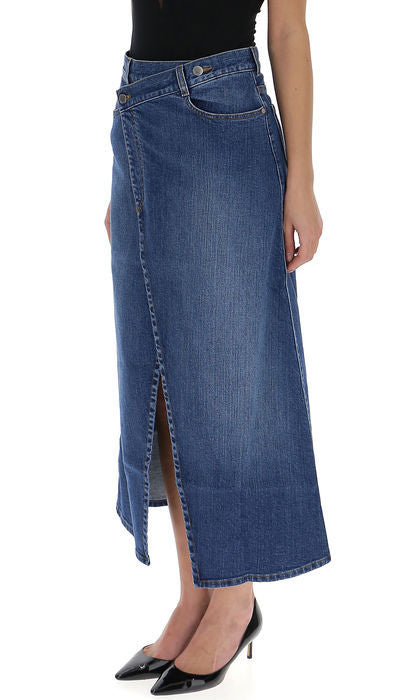 2eb2e8bf27 Stella McCartney Denim Wrap Skirt – Cettire