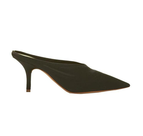 Yeezy Open Back Pointed Toe Pumps