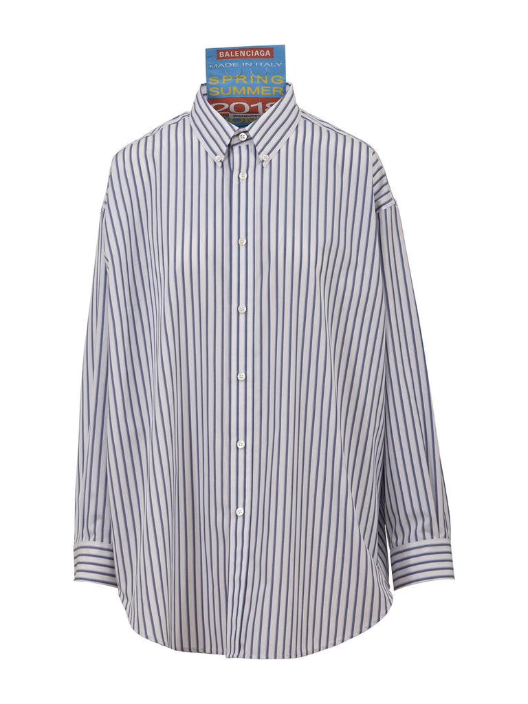 Striped shirt Balenciaga Countdown Package Cheap Price Discount Amazing Price Factory Outlet Sale Online 6UWCIxt