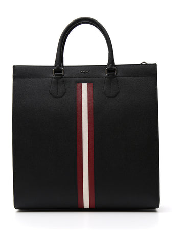 Bally Signature Stripe Tote