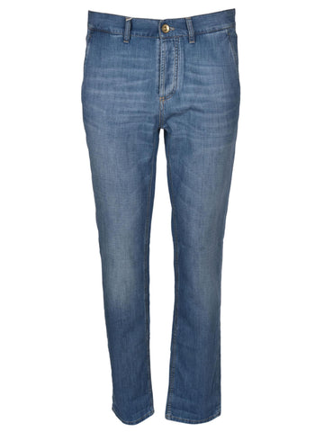 Brunello Cucinelli Faded Jeans