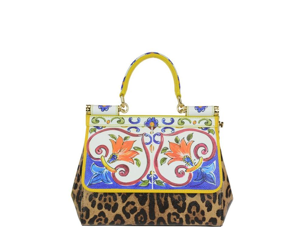 Buy Best Cheap Deals Sicily Tote Bag - Only One Size / Multi Dolce & Gabbana NYu8dosz8l