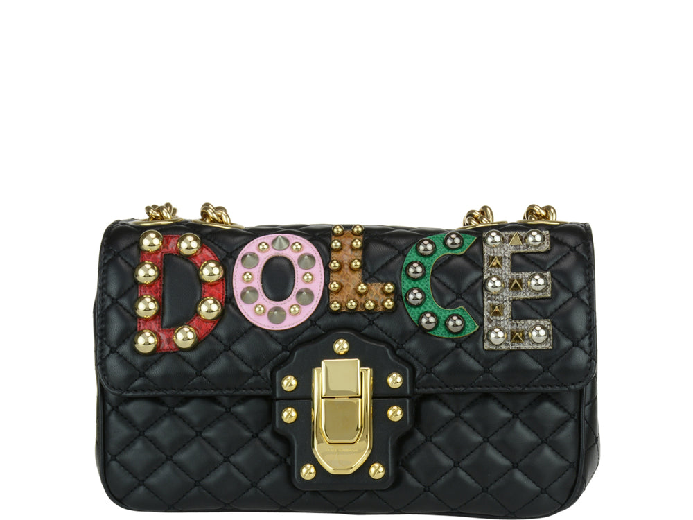 Lucia Dolce Bag Gabbana Quilted Shoulder amp; qwwxYp6E